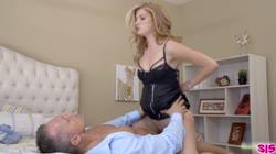 BrattySis Arya Fae - Bratty Step Daughter enjoying punishment