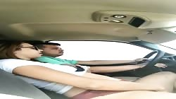Dirty Wife CHEATS on husband WHILE DRIVING to see him with Best Friend