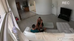 SpyFam – Brett Rossi Horny Stepmom Massages Stepson's Huge Cock